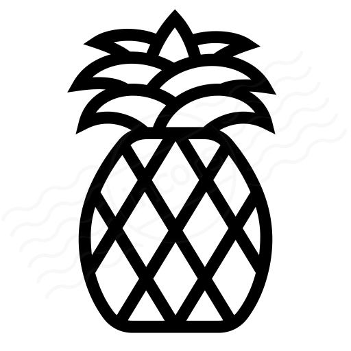 Iconexperience I Collection Pineapple Icon