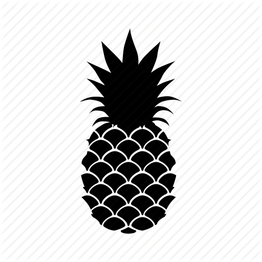 Food, Fruit, Fruta, Pineapple, Icon