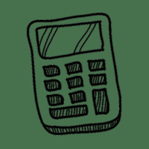 Hand Drawn Calculator Icon
