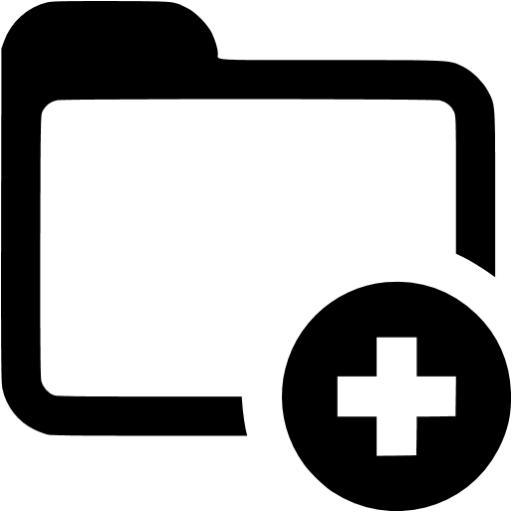 Pink Folder Icon