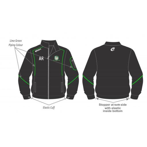 Lea Roses Cc Tracksuit Training Jacket