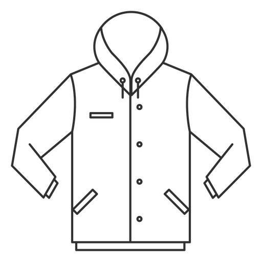 Button Hoodie Stroke Icon
