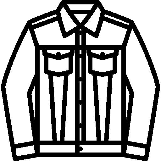 Denim Jacket Icons Free Download