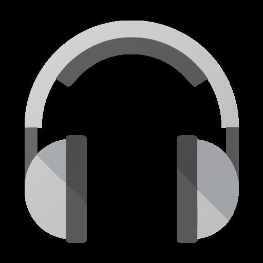 Mixed Music Flat Icon