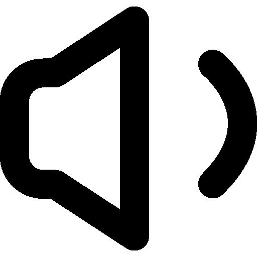 Speaker Audio Symbol Icons Free Download