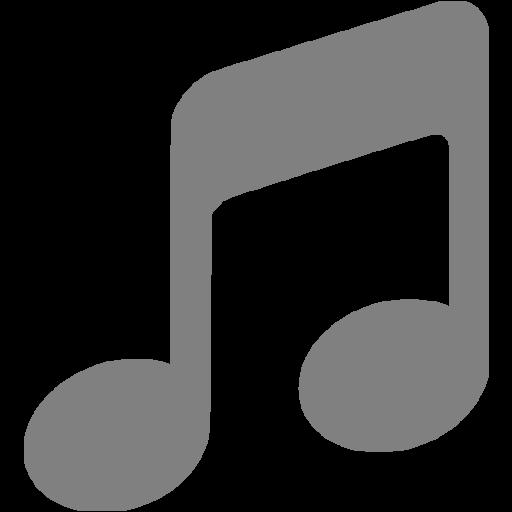 Gray Music Icon