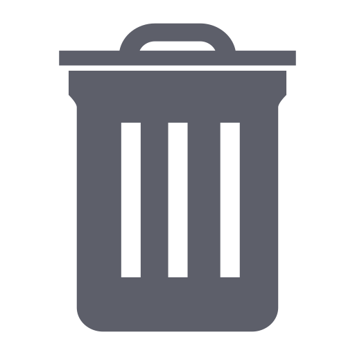 Dustbin, Garbage Can, Recycle Bn With Png And Vector Format