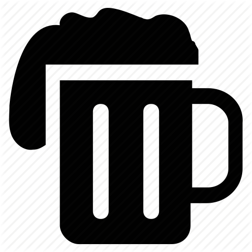 Alcohol, Beer, Beer Glass, Beer Jar, Beer Pint, Drink Icon