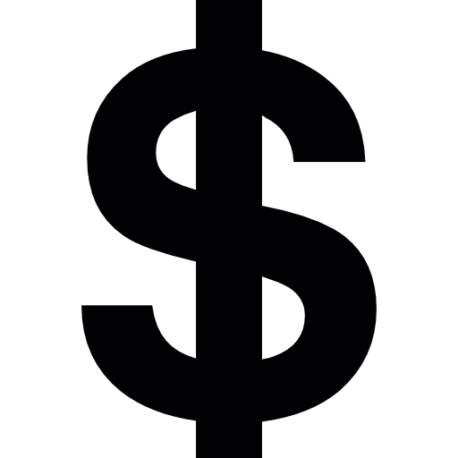 American Dollar Symbol Free Vector Icons Designed