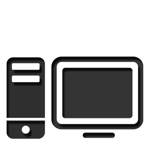 Computer Drawing Icon