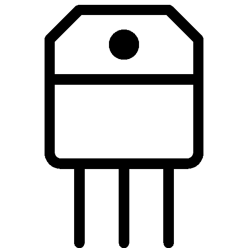 Industry Transistor Icon Ios Iconset