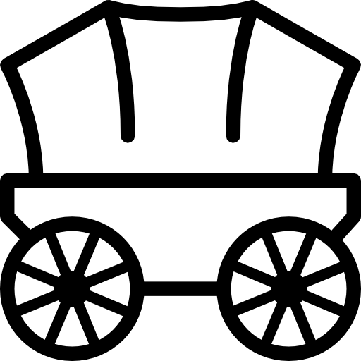 Transport Pioneer Wagon Icon Ios Iconset