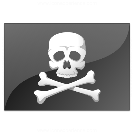 Iconexperience V Collection Flag Pirate Icon