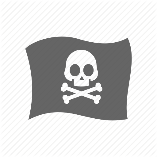 Criminal, Flag, Mafia, Pirate Icon