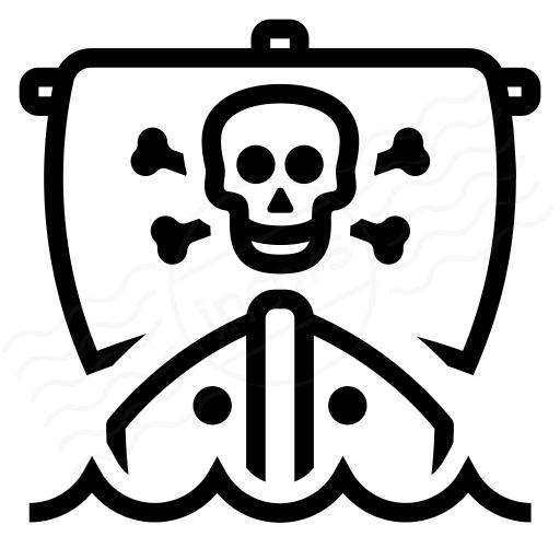 Iconexperience I Collection Pirates Ship Icon
