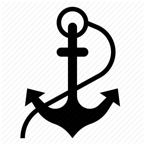 Anchor, Marine, Nautical, Navy, Pirate, Ship Icon