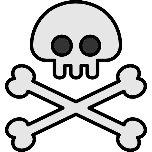 Miscellaneous, Halloween, Poison, Pirate, Skull And Bones, Jolly