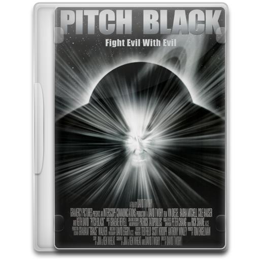 Pitch Black Icon Movie Mega Pack Iconset