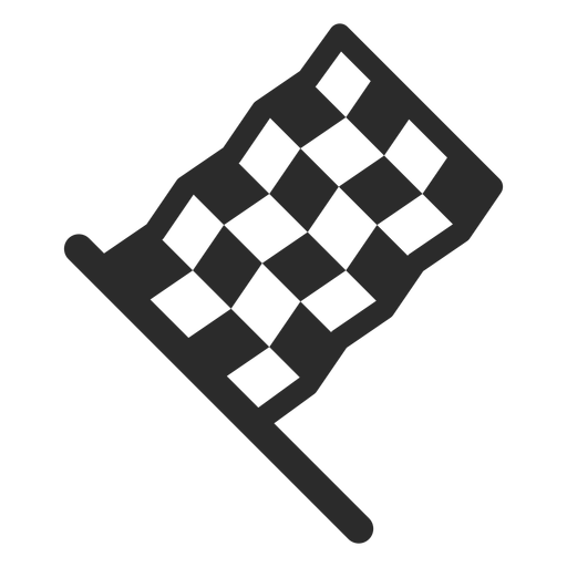 Racing Flag Stroke Icon