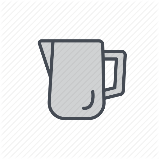 Coffee, Frothing, Milk, Milk Froth, Milk Jug, Pitcher Icon