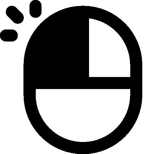 Pixel Clipart Mouse Icon