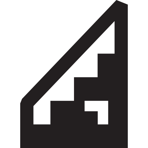 Down, Pixels, Pixelated, Up, Stairs, Ladder Icon