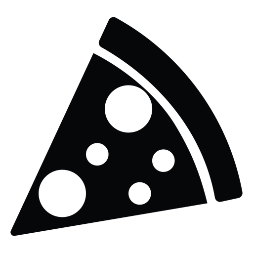 Simple Pizza Slice Icon