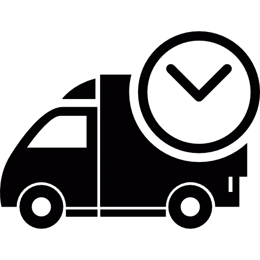 Shopping Delivery Time Icon