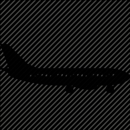 Aircraft, Airplane, Flight, Jet, Plane Icon