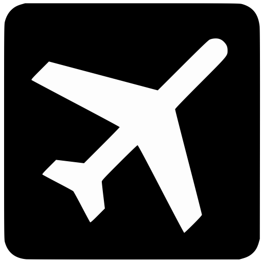 Departing, Flight, Flights, Plane Icon