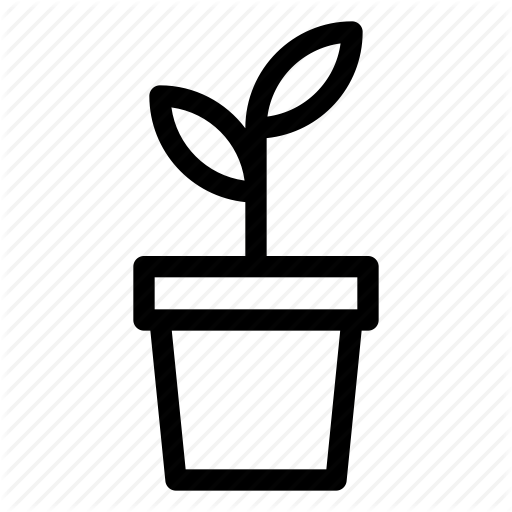 Green, Grow, Leaf, Plant, Pot, Seed Icon