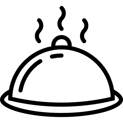 Plate Of Food Icon