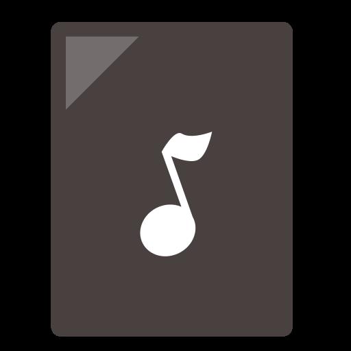 Audio, Playlist Icon Free Of Zafiro Mimetypes