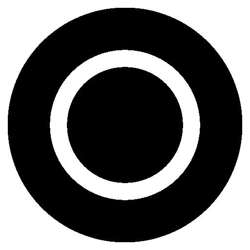 Playstation Circle Black And White Icon Playstation Flat Iconset