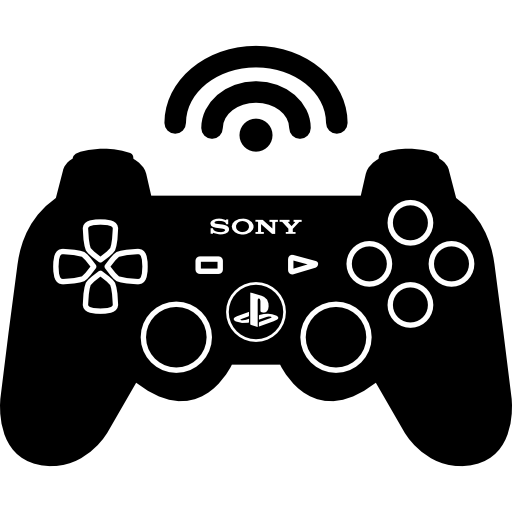 Wireless Game Control Icons Free Download
