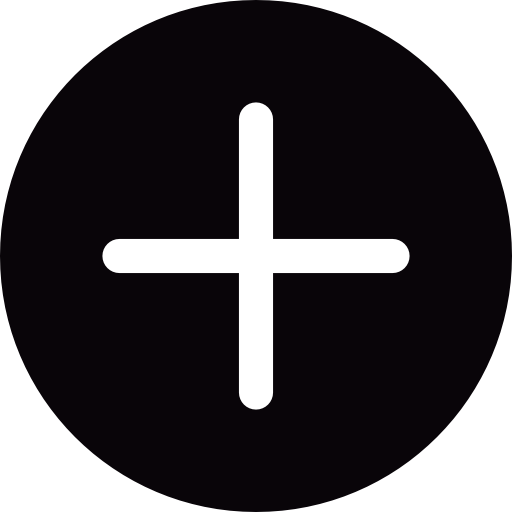 Plus Circular Mini Button Icons Free Download