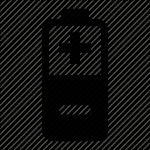 Battery, Plus Minus Icon