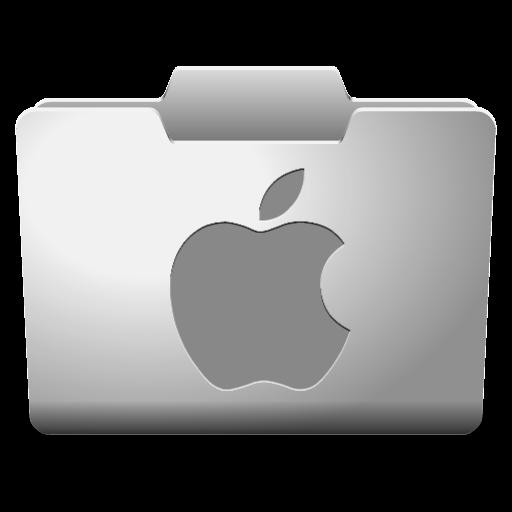 White Mac Icon