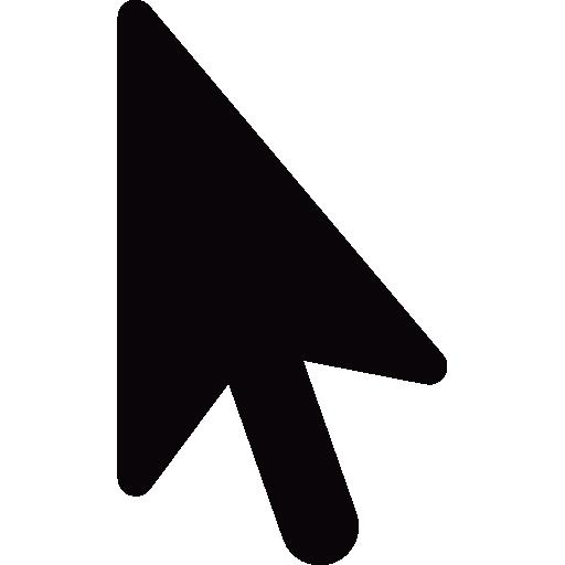Black Cursor Arrow Icons Free Download