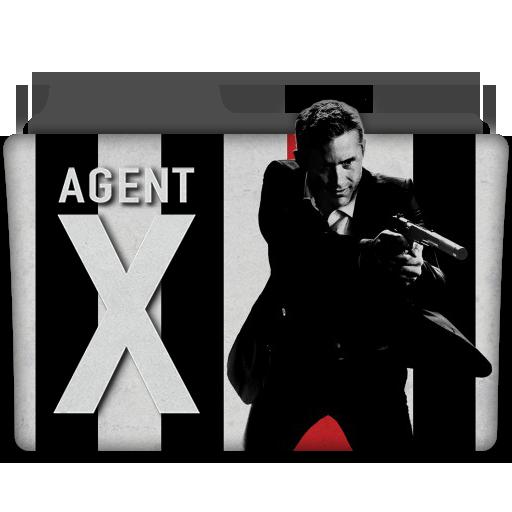 Agent X Tv Series Folder Icon