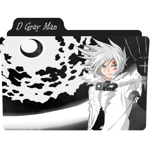 D Gray Man Folder Icon