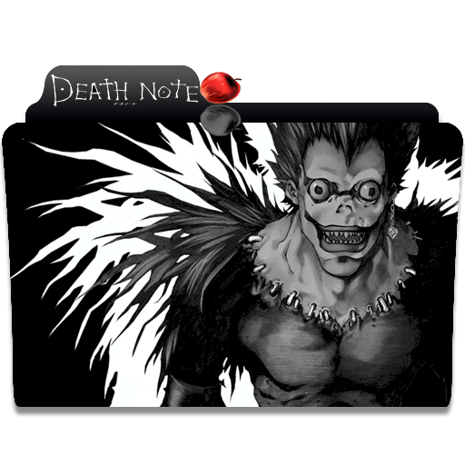 Death Note Folder Icon