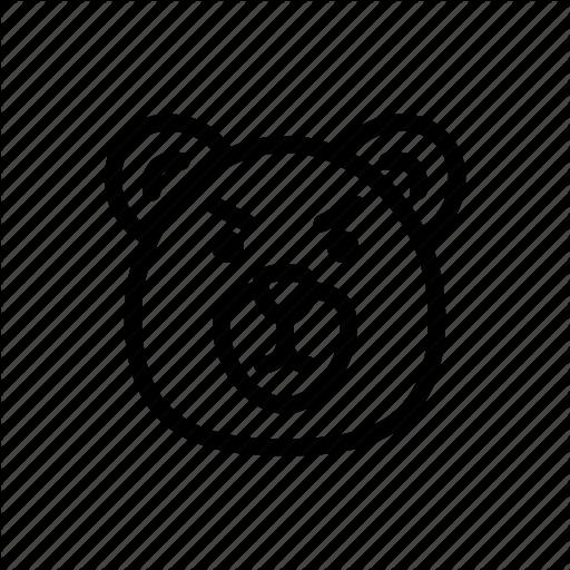 Animal, Bear, Face, Grizzly, Head, Polar Bear, Wild Icon