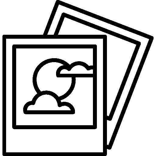 Two Polaroid Icons Free Download