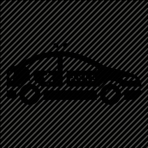 Car, Patrol, Police, Transport Icon