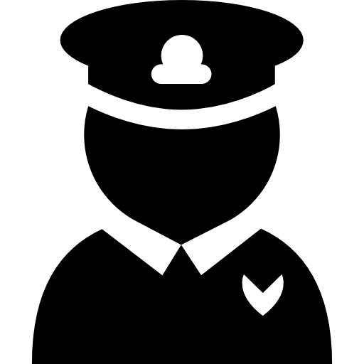 Officer, Police Icon