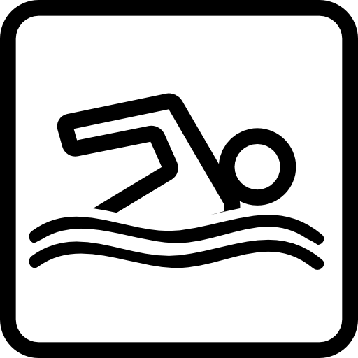 Swimming Pool Signal Icons Free Download