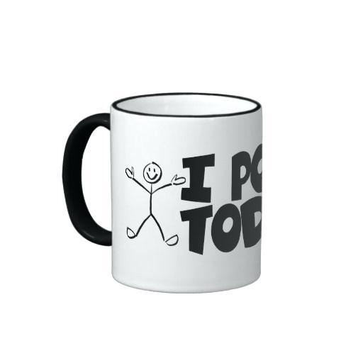 I Pooped Today Coffee Mug I Give A Poo Poop Emoji Mug Cup Funny