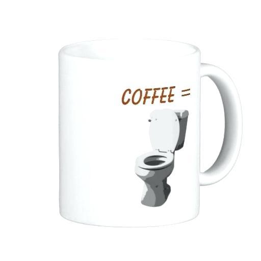 Coffee Make Me Poop Mug Smiley Poop Emoji Emoticon Ceramic Mug Cup