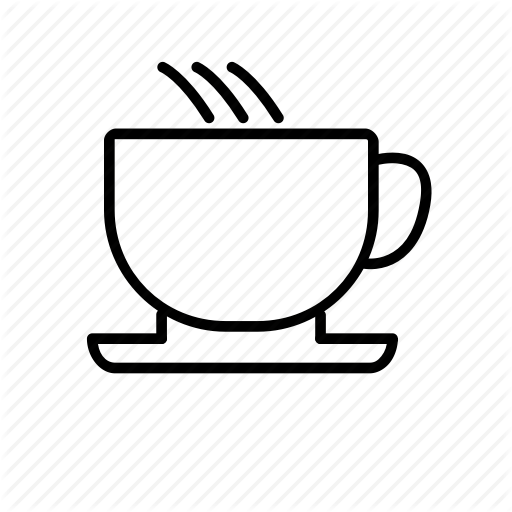 Breakfast, Coffe, Coffee, Cup, Drink, Outline Icon